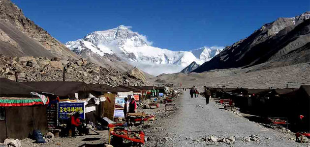 Tibet overland tour Everest base camp